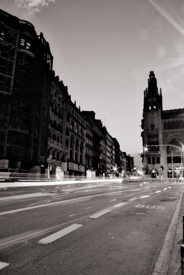 Via Laietana, Barcelona.