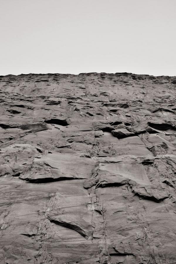 Glen Canyon: Wand aus Stein