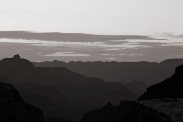 Grand Canyon: Sonnenaufgang