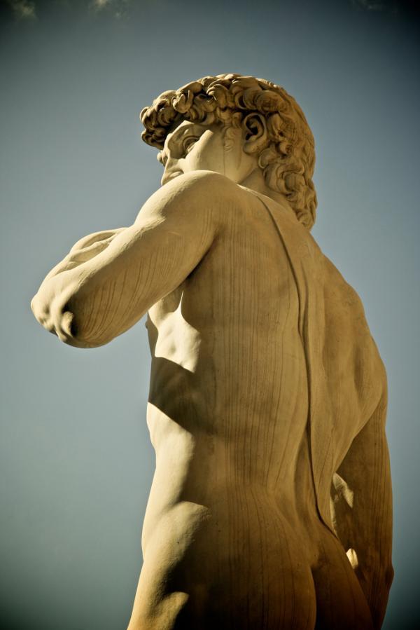 Der berühmte David von Florenz