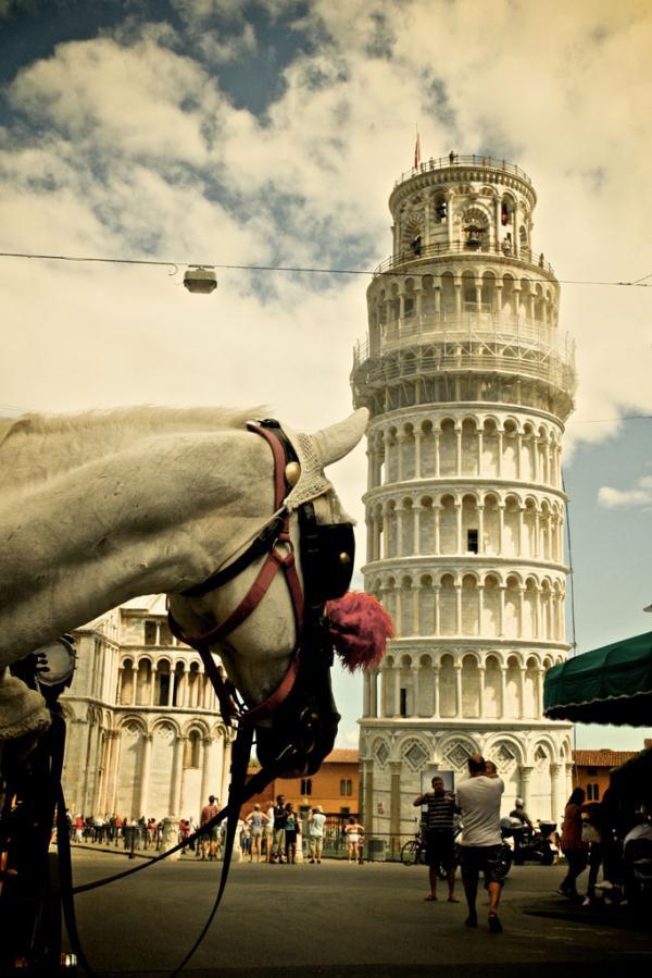 Das soll der schiefe Turm sein?
