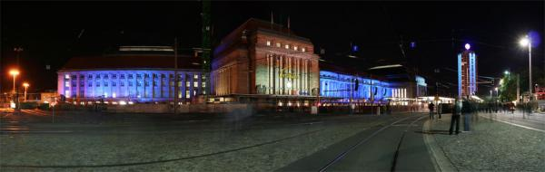 Lichtfest #3: Hauptbahnhof