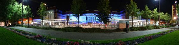 Lichtfest #2: Hauptbahnhof
