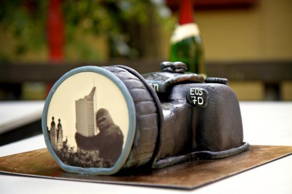 Meine Canon 7D als leckerer Kuchen!