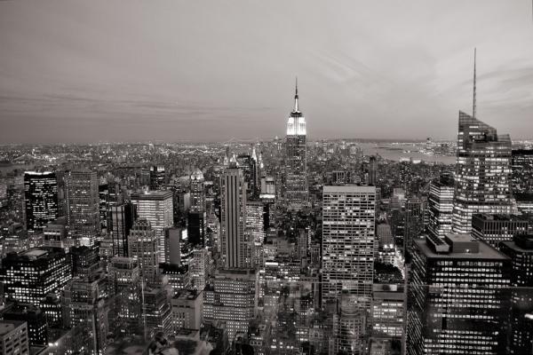New York City: Blick vom Rockefeller Center