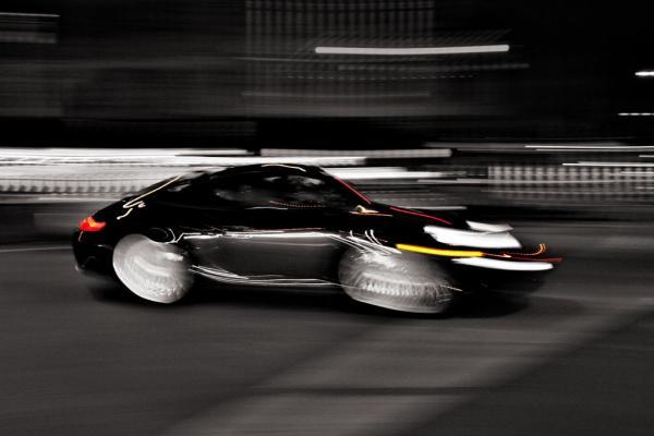 New York City: Porsche auf der Strasse