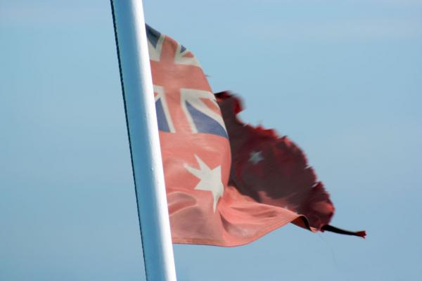 Australiens Flagge: Red Ensign