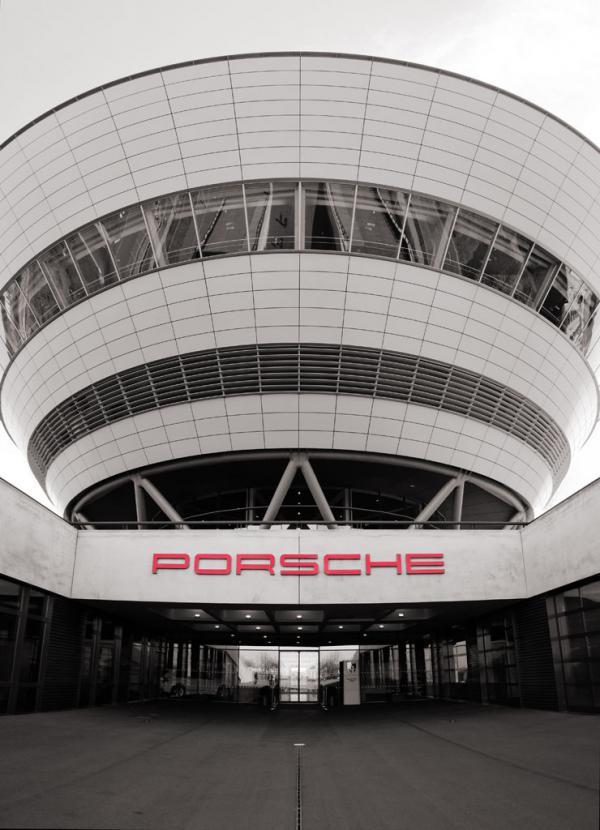 Porsche Diamant - Kundenzentrum Leipzig