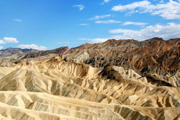 Die Wüste des Death Valley