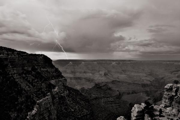 Grand Canyon: Blitz und Gewitter