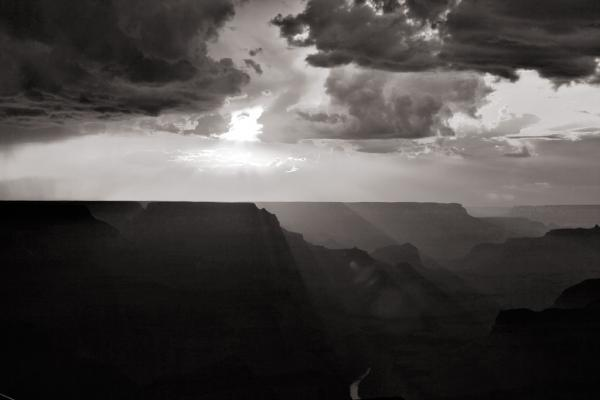 Grand Canyon: Sonnenuntergang