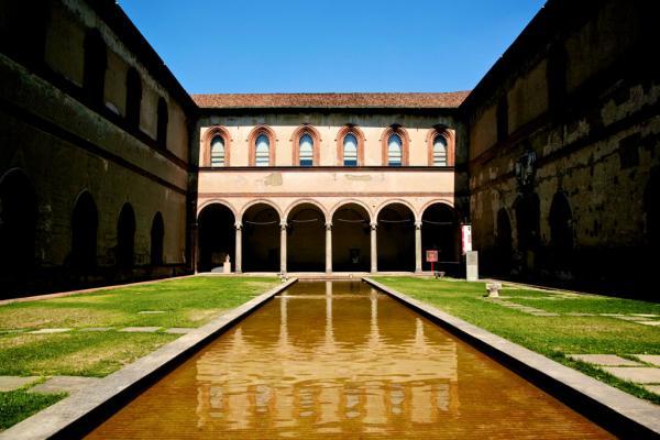 Mailand: Castello Sforzesco #1