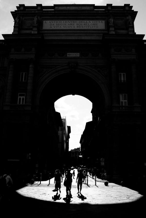 Triumphbogen in Florenz