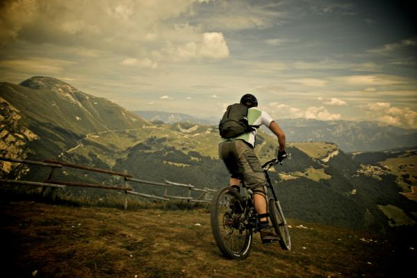 Mountainbiking vom Monte Baldo