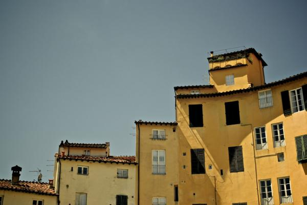 Dächer des Piazza dell'anfiteatro, Lucca