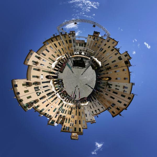 Little World: Lucca, Italien.