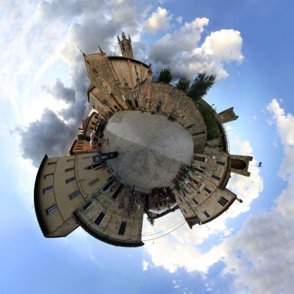 Little World: Monteriggioni, Italien.