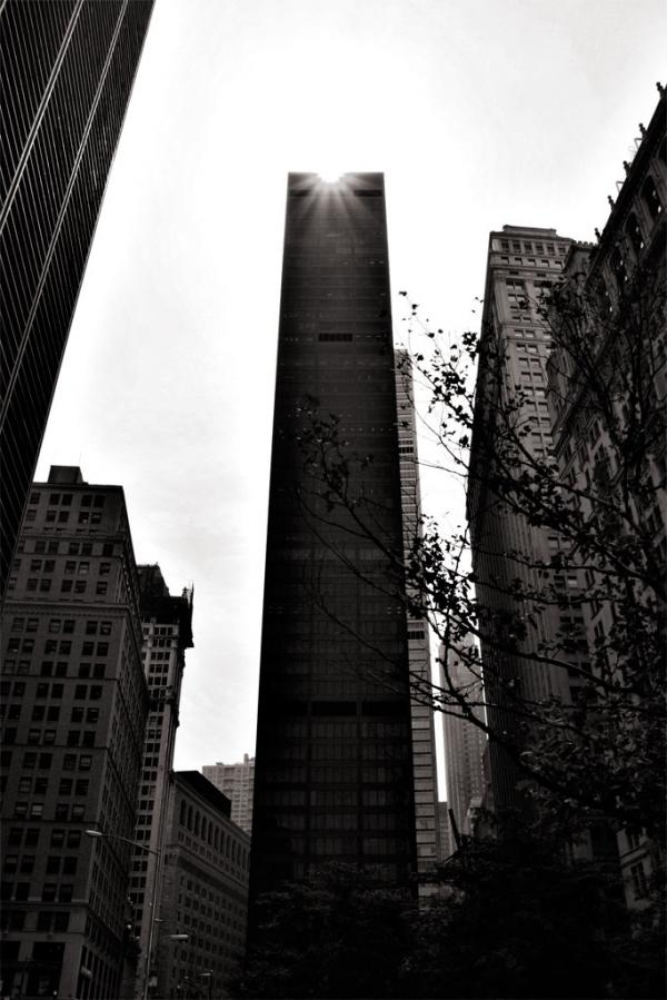 New York City: Hochhaus am Ground Zero