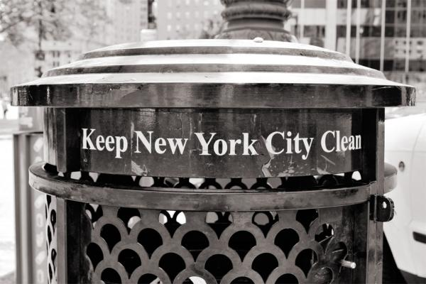 New York City: Keep it clean!