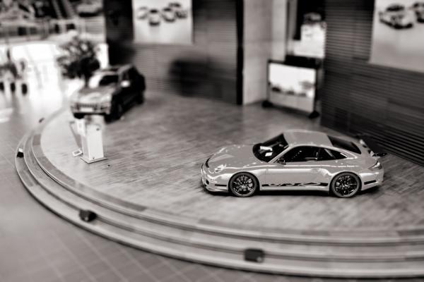 Porsche in der Vitrine #2