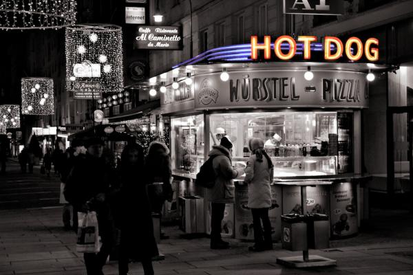 Wien: Hot Dog