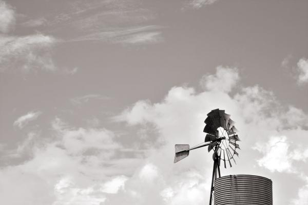 Windmill/Windrad in Kuranda, Australien
